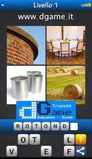 PACCHETTO 5 Soluzioni Trova la Parola - Foto Quiz con Immagini e Parole soluzione livello 1