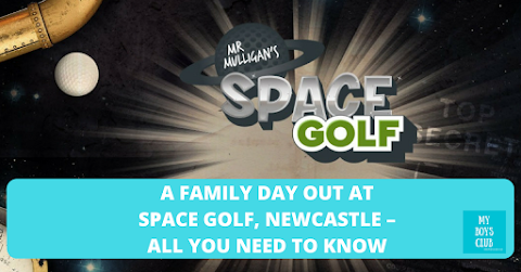 A Family Day Out at Space Golf, Newcastle – All You Need To Know (REVIEW)