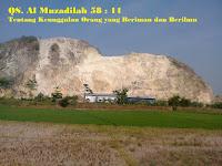 Al Qur'an Surat Al-Muzadilah 58 : 11
