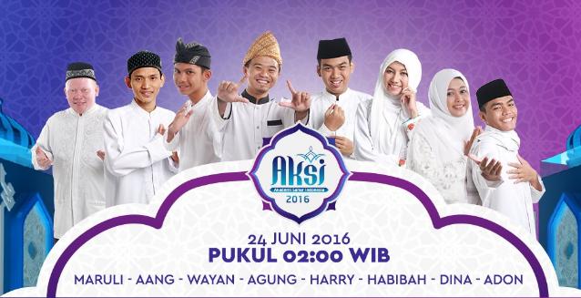 Peserta AKSI Akademi Sahur Indonesia 2016 Group 4