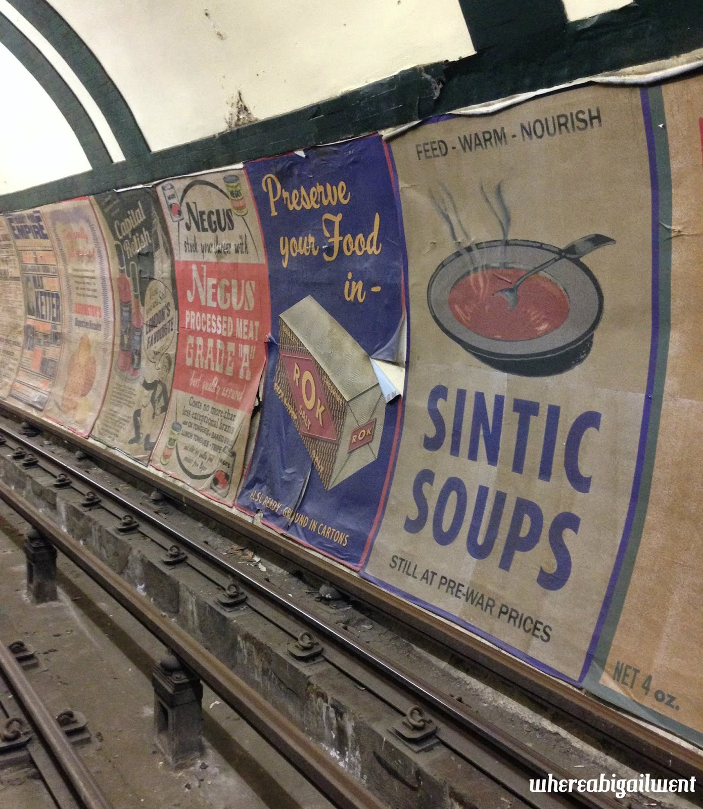 Aldwych Station Posters