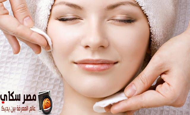 كيفية تقشير البشرة وتنظيفها Peeling skin