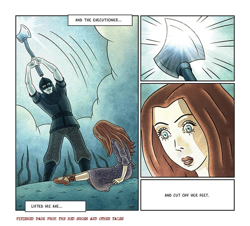 Red Shoes Graphic Novel