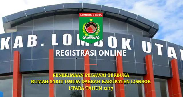 Lowongan Kerja Penerimaan Pegawai NON PNS RSUD Lombok Utara Tahun 2017
