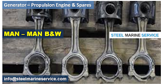 MAN Generator-Engines/We Steel Marine Service are suppliers of MAN