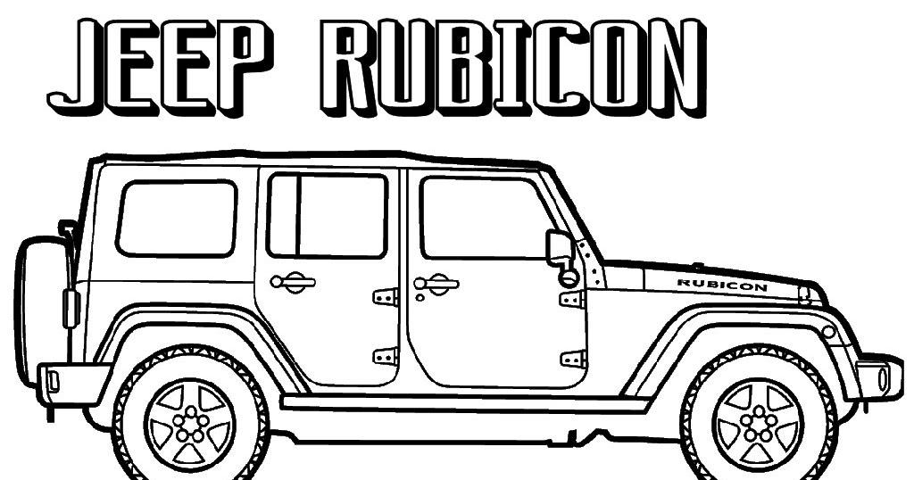 Gambar Sketsa Mobil Jeep Auto Werkzeuge