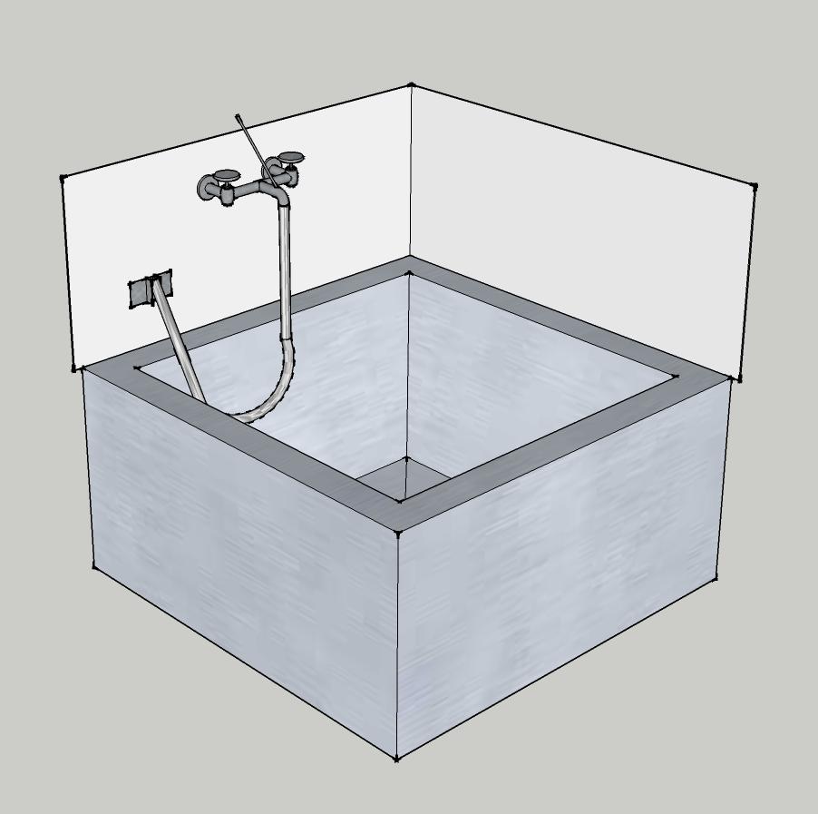 Wardworks august 2013 for Sketchup bathroom sink