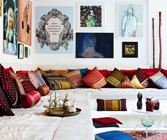 Ethnic decor inspiration