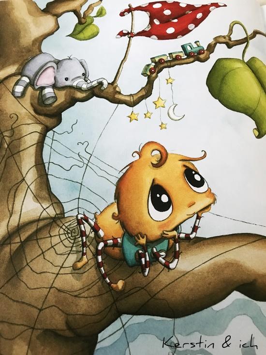 Kinderbücher Die kleine Spinne Wiederlich