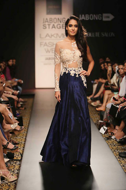 Cocktail Gown Lehenga By Ridhi Mehra