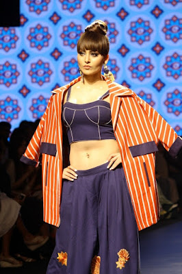Urvashi Rautela at Lakme Fashion Week 2017