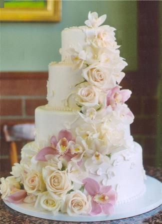 my perfect wedding cake fresh flower wedding cakes. Black Bedroom Furniture Sets. Home Design Ideas