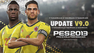 PES 2013 Next Season Patch 2019 Update v9.0 Season 2018/2019