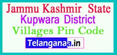 Kupwara District Pin Codes in Jammu Kashmir State