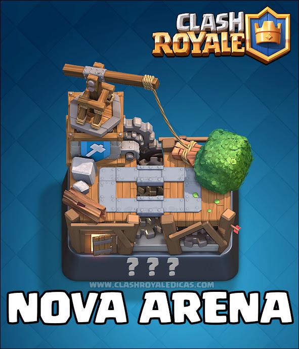 Clash Royale Oficina do Construtor - Nova Arena 2016