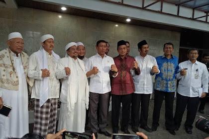Inilah Foto-foto Silaturrahim GNPF MUI ke kediaman Menko Polhukam Bpk. Wiranto