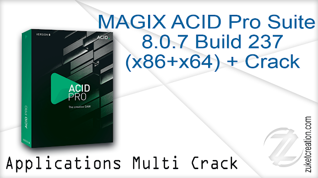 MAGIX ACID Pro Suite 8.0.7 Build 237 (x86+x64) + Crack