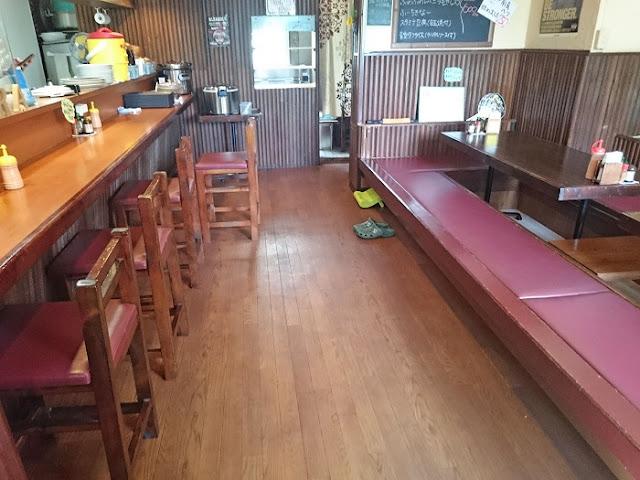 くわっちぃ食堂 青空の店内の写真