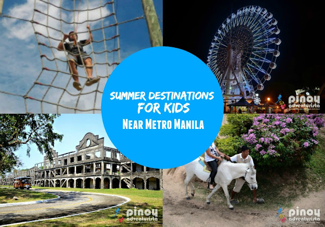 Summer Destinations near Metro Manila for Kids