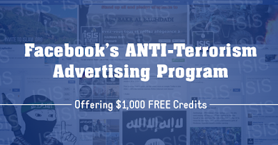 Facebook Offering You $1.000 to Run Advertisement Against Terrorism - Rumah Mobile