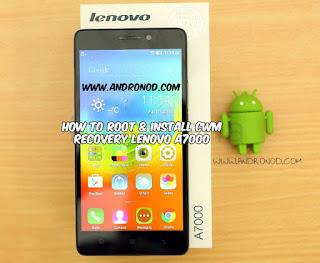Cara Mudah Root, Unroot dan Install CWM Recovery Lenovo A7000