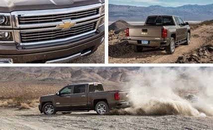 Off-Road & Camping: 2015 Chevrolet Silverado 1500 6 2L 4x4 8-Speed