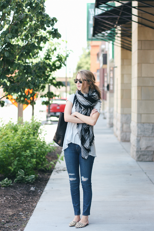 zipped: spots + stripes