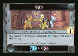 My Little Pony In the Temple of Chicomoztoc Defenders of Equestria CCG Card