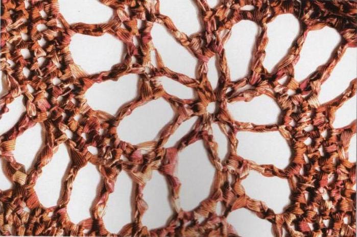 Lujo Patrón De Crochet Espiral De Flores Molde - Ideas de Patrones ...