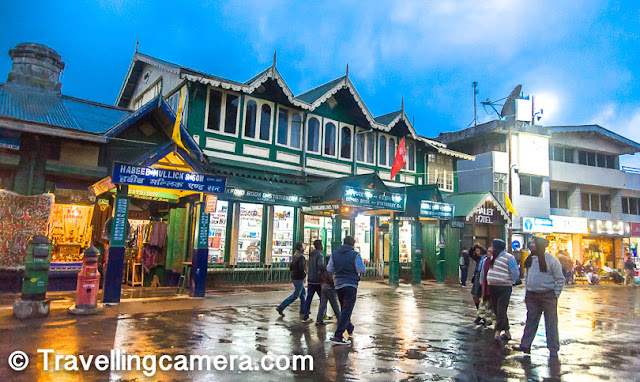 When we were in Darjeeling, it was raining quite often even though it was still summer. Even though the crowd thinned out a bit when it was raining, as soon as the rain turned into a drizzle, hundreds of people materialized almost at once. Mall Road is definitely the center of activities in Darjeeling.