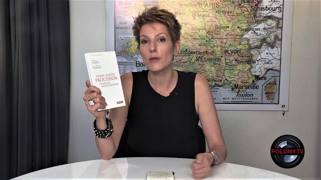 Natacha Polony parle du livre de Thibault Isabel sur Proudhon