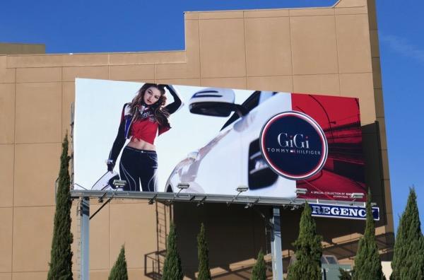 Tommy Hilfiger Gigi Hadid Spring 2018 billboard