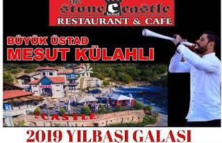 Stone Castle Restaurant yılbasşı programı menu fiyat