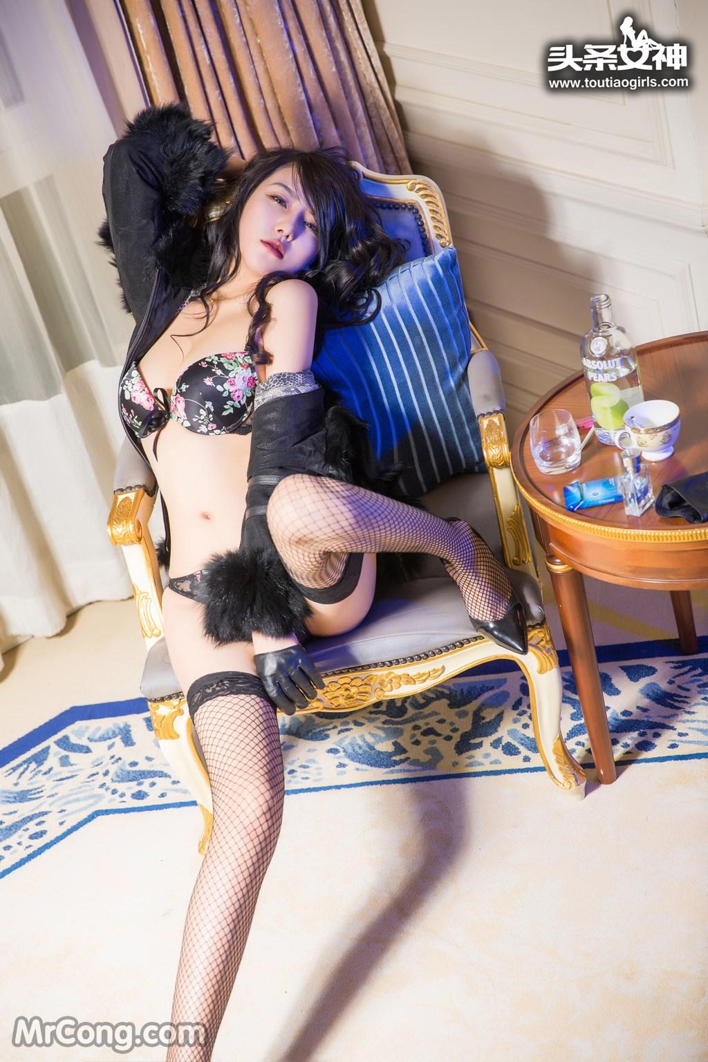 Image MrCong.com-TouTiao-2016-12-26-Dan-Dan-011 in post TouTiao 2016-12-26: Người mẫu Dan Dan (丹丹) (33 ảnh)