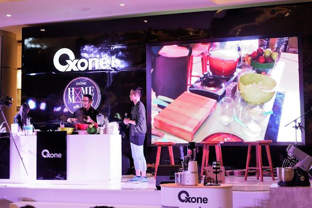 chef edrri saat demo masak bersama oxone