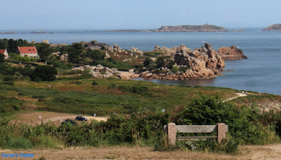 Carole's Chatter: The Pink Granite Coast, Brittany, France
