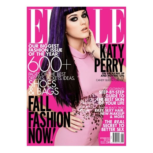 Katy Perry really pisses me off (ELLE magazine September 2012)