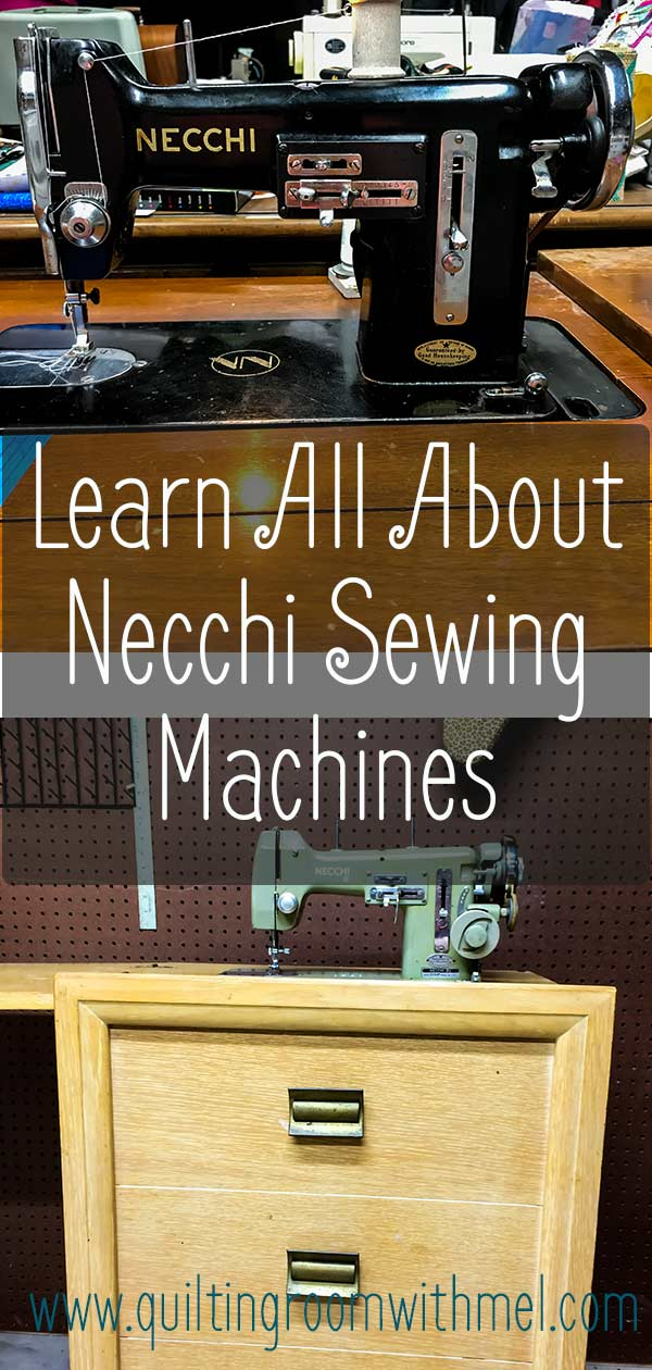 Learn about the history, the cabinets, how to thread Necchi BU sewing machines, and more