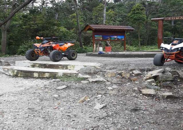 Wahana Bermain ATV di Kawah Putih Ciwidey Bandung