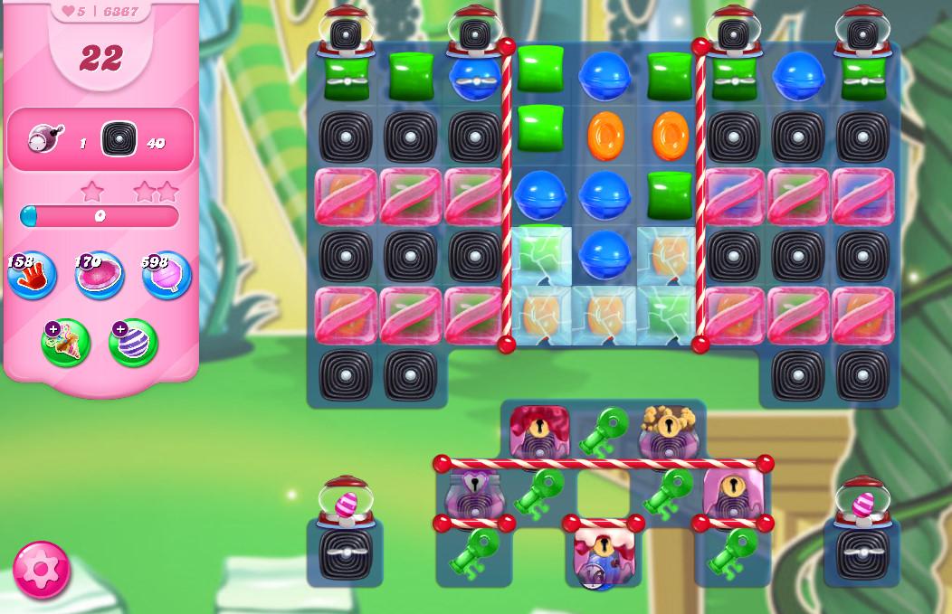 Candy Crush Saga level 6367