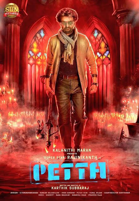 Petta (2019) Telugu 480p 720p pDVDRip, petta movie download tamilrockers