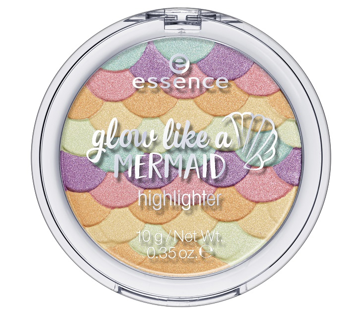 essence glow like a mermaid highlighter