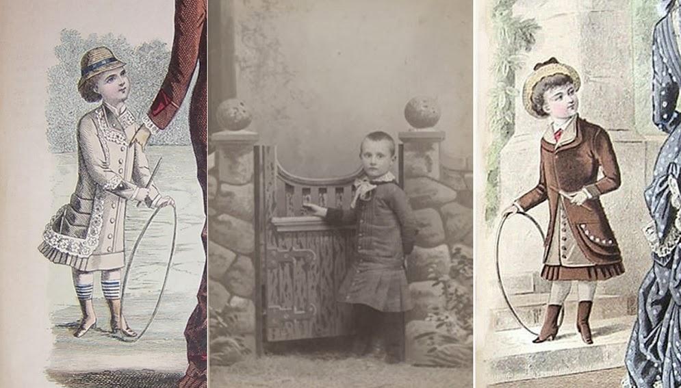 histoire de mode enfantine