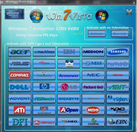 code for windows 7 ultimate activation