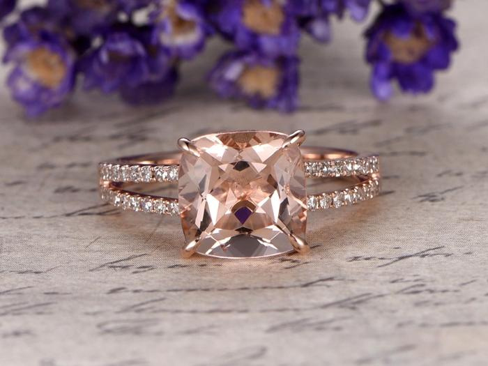 https://www.bbbgem.com/8x8-cushion-morganite-engagement-ring-diamond-promise-ring-14k-rose-gold-stacking-band/