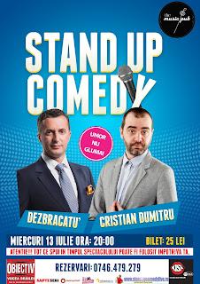 Stand-Up Comedy Braila Miercuri 13 Iulie