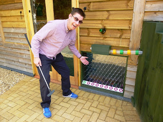 The Peterborough Minigolf course at Dobbies Garden Centre