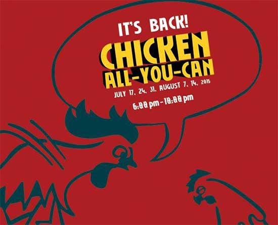 Max's Chicken ALL-YOU-CAN - IT's BACK