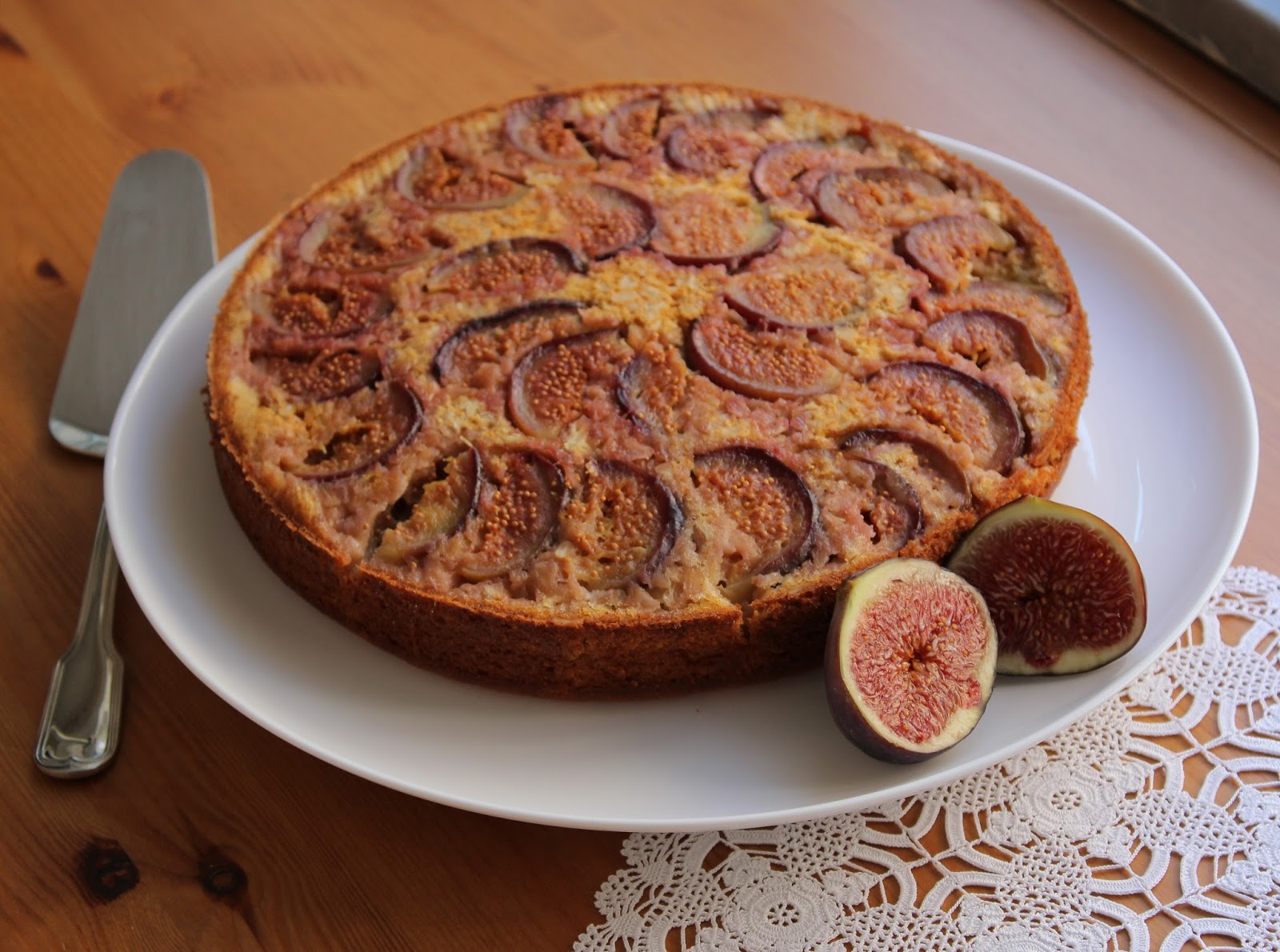 İncirli kek tarifi