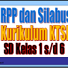 Contoh RPP dan Silabus SD Kelas 1, 2, 3, 4, 5 dan 6 KTSP Semester 1 dan 2 Mata Pelajaran Matematika